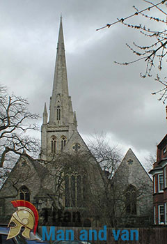The Christ Church on Hampstead Square