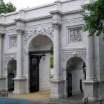 Marble Arch in Bayswater, London