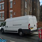 Small van for removals
